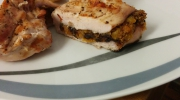Hähnchenbrust auf dem Teller